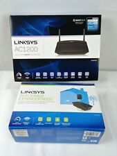 Linksys AC1200 Dual Band Smart WiFi Router N300 WiFi Range Extender