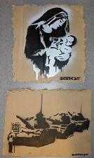 Dismaland Free Art Cardboard 2015 Banksy