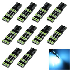10x Ice Blue Car T10 W5W Side Light Lamp Marker Lamp PCB 18 2835 SMD LED A109