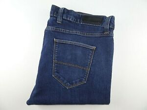 """M&S Mens Jeans Blue Stretch Denim Skinny Fit SIZE W42 L29 Waist 42"""" Leg 29"""""""
