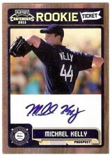 MICHAEL KELLY 2011 PLAYOFF CONTENDERS ROOKIE TICKET AUTOGRAPH #50 SD PADRES