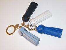 bdbb8dd1ad Michael Kors Blue Multi Cascading Leather Tassel Bag Charm Key Chain  58