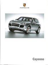 Prospetto/BROCHURE PORSCHE CAYENNE 06/2005 incl. modelli in dati