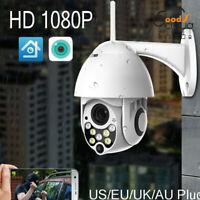 1080P PTZ Mini WIFI Outdoor Dome IP Camera Wireless HD CCTV Waterproof Audio