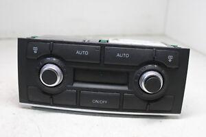 #3309 AUDI A8 D3 2008 3.0TDI Heater Climate Contro Panel 4E0919158C / 4E0910158