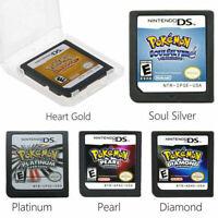 Pokemon HeartGold SoulSilver Spielkarte für Nintendo 3DS NDSI NDSLL NDS Lite