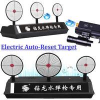 Electric Auto-Reset Target For NERF N-Strike Elite Blasters Gel Ball Kid Toy Gun