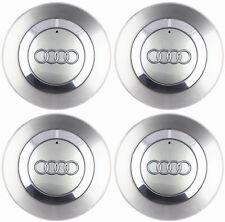 4x 150mm Gray Wheel Center Hub Caps Badge 8E0601165 for Audi A4 B6 B7 2001-2004