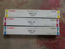 8641A001-8643A001-Genuine Canon NPG23 Digital Copier Toner Rainbow Set (C/Y/M)
