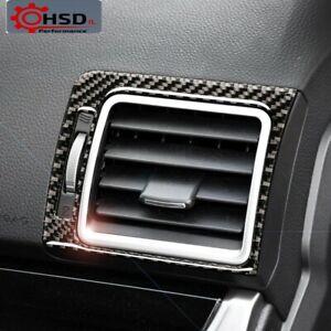 Carbon Fiber Air Conditioner Outlet Vent Frame For Subaru Forester 2016-2018