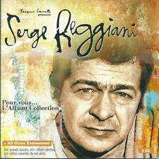 Serge Reggiani - Pour vous 2xCD 40 tit compilation remaster 1999 France