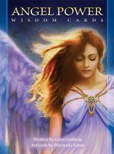 ANGEL POWER WISDOM CARDS DECK GUIDANCE SELF HELP CAT ResQ