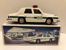 HESS 1993 Patrol Car Police Siren Lights Collectible