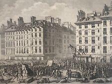 Supplice de Foulon à la place de grève 23 juillet 1789 Révolution Française 1804