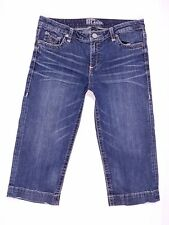 KUT From The Kloth Capri Jeans Size 10 Women's Measures 33 x 19