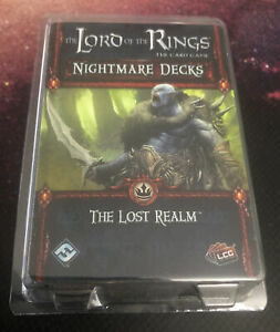 Lord of the Rings LCG: The Lost Realm Nightmare Deck New FFG