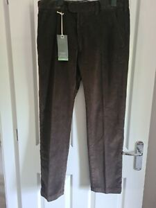 M&S Mens Straigh Leg Cords W34 L29 Brown. Brand New With Tags RRP £39.50