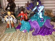 mega construx he-man vs beast man lot Plus Skeletor