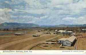 Nadi Fiji Airport Used Postcard