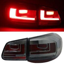LED Lightbar Taillights Rear Lights Facelift look for VW Tiguan 5N 07-11 Smoke