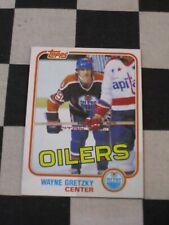 1981-82 Topps Hockey #16 Wayne Gretzky