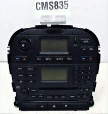 JAGUAR S-TYPE RADIO / CD PLAYER  STEREO HEAD UNIT & HEATER CONTROLS