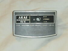 AKAI REEL TO REEL TAPE RECORDER SPARES HEAD COVER 4000DS MK2