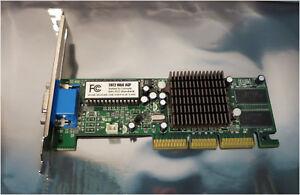 NVIDIA TNT2 M64 AGP 32MB Video Graphics Card, CE-406, 4VNTDH02, Passive
