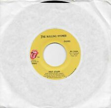 THE ROLLING STONES  Hot Stuff / Fool To Cry  rare OLDIES 45