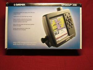 GPSMAP® 398 Sounder Color GPS chartplotter/sounder