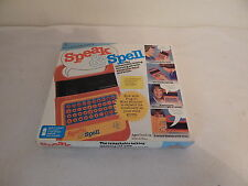 Texas Instruments speak & Spell Box and Manual ONLY Good Condition