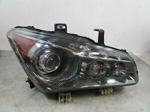 14 2014 Infiniti QX80 RH Passenger Xenon HID Headlight Head Light Lamp OEM