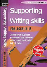 Writing Skills 11-12 (Supporting Writing Skills),Brodie, Andrew,New Book mon0000