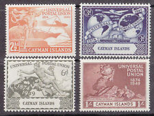 George VI (1936-1952) Mint Hinged Cayman Islands Stamps