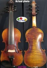 Flames SONG Brand Strad style 6 strings master 4/4 violin #11542