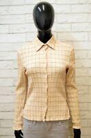 Camicia Marlboro Classics Taglia S Slim Manica Lunga Cotone Donna Quadri Woman