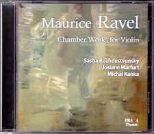 SACD Sasha ROZHDESTVENSKY: RAVEL Violn Sonata Tzigane Berceuse MARFURT KANKA