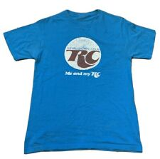 VTG RC COLA Me And My RC Blue Adult T Shirt