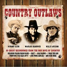 CASH/JENNINGS/NELSON - COUNTRY OUTLAWS 3 CD NEU