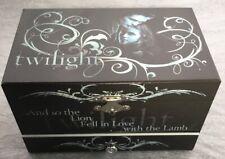 RARE Twilight Music Jewelry Box Moving Cullen Crest, Midnight Sun Edward Bella