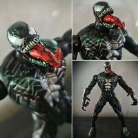 RARE Metallic Venom Action Figure Spiderman Origins Marvel Hasbro 2006 Toy
