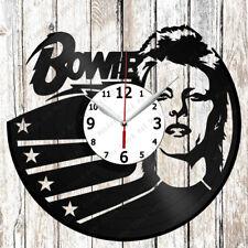 David Bowie Vinyl Wall Clock Made of Vinyl Record Original gift 2624