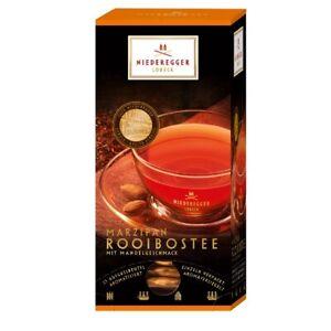 Niederegger Marzipan Rooibos Tea 25x 1.75g Luxury product No.1