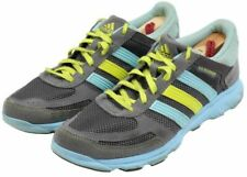 Adidas LA Runner Womens Ladies Gray Blue Yellow Athletic Training Shoes Size 7