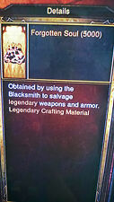 Diablo 3 xbox one CRAFT ITEMS 10000 each and 1 BILLION GOLD SOFTCORE MODE
