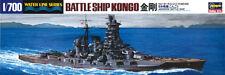 Hasegawa 1/700 Scale Waterline Model Kit WWII IJN Japanese Battleship Kongo