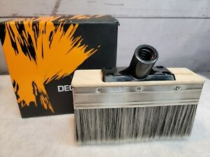 Deck Stain Brush Applicator 7 inch Paint Brush Stain Seal and Paint for Floor