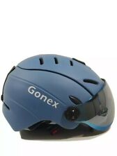 Gonex Ski Helmet With Goggles Men/women Large Blue