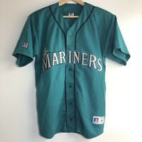 Vintage Russell Seattle Mariners MLB Baseball Green Jersey Size XL