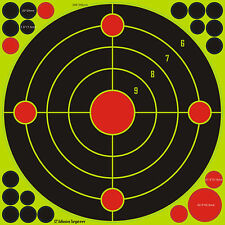 "AA Shield 12"" Self Adhesive Reflective Target Paper Splatter Paper Stickers 50PK"